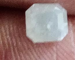 Natural ice white diamond 0.65ctwsize 1pcs