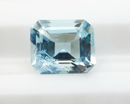 0.70 CTs Natural & Unheated~ Blue Aquamarine Gemstone