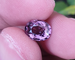 UNHEATED 2.11 CTS NATURAL GORGEOUS VS PURPLE SPINEL TANZANIA