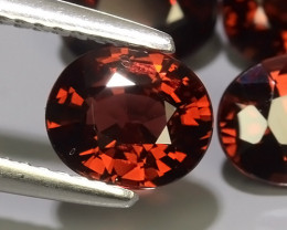 6.05 CTS EXCELLENT NATURAL -RED~OVAL RHODOLITE GARNET NR!!