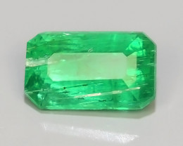 ~EXCELLENT~NATURAL EMERALD ~OCTAGON~NICE QUALITY GOOD COLOR~COLOMBIA!!