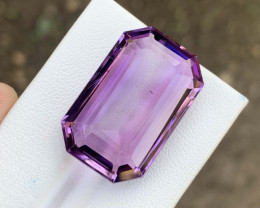 28.33 carat Attractive color Fancy Cut gemstone