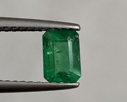 Natural Emerald 0.64 Cts Superb Quality from Zambia