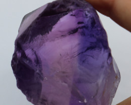 400cts Natural Rough Amethyst Eye Clean