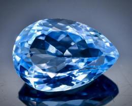 5.98 Crt Natural Topaz Faceted Gemstone.( AB 79)
