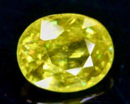 0.70 Crt Natural  Sphene Faceted Gemstone.( AB 79)