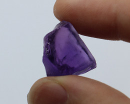 36.45cts Natural Rough Amethyst Eye Clean