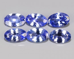2.55 CTS MATCHING MIND BOGGLING NATURAL RICH FIRE RARE-TANZANITE