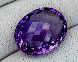 28CT AMETHYST BEST QUALITY GEMSTONE IIGC26