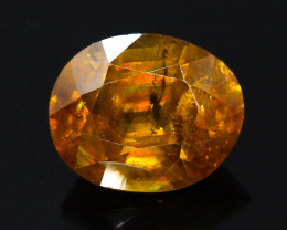 Rainbow Fire 4.20 Ct AAA Brilliance Sphene !GH!