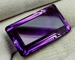 69Ct Natural Amethyst Gemstones IGCam03