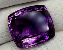 59Ct Natural Amethyst Gemstones IGCam17