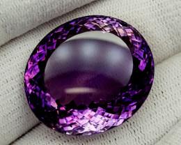 71.55Ct Natural Amethyst Gemstones IGCam23