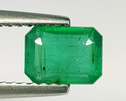 1.00 ct Exclusive Gem Stunning Octagon Cut Natural Emerald