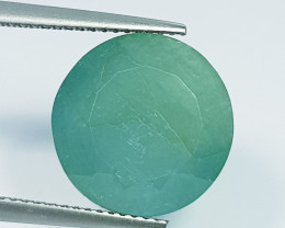 7.75 ct  Fantastic Gem Amazing Round Cut Natural Grandidierite