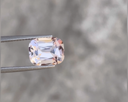 Lovely 2.77ct slightly peachy pink morganite