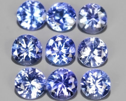 2.30 CTS~EXCELLENT ROUND CUT_MARVELOUS_NATURALl TANZANITE NR!!