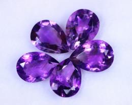43.52cts Natural Purple Amethyst Lots / MA1241