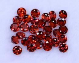 10.44cts Natural Orangish Red Spessartite Garnet Lots / MA1248