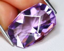 Amethyst 8.87Ct VVS Master Cut Natural Bolivian Purple Amethyst C0404