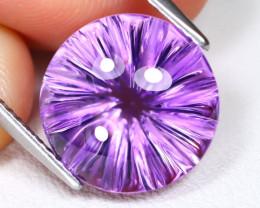 Amethyst 8.07Ct VVS Designer Cut Natural Bolivian Purple Amethyst C0416