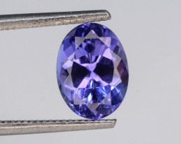 Tanzanite 1.25 Ct Natural Tanzanite ! Eye Catching Tanzanite!GA!