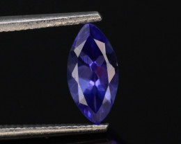 Tanzanite 0.70 Ct Natural Tanzanite ! Eye Catching Tanzanite!GA!