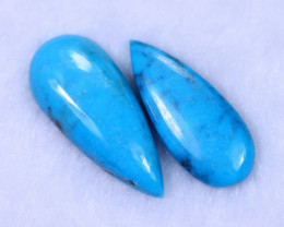 21.78cts Natural Sleeping Beauty Turquoise Pair / MA1285