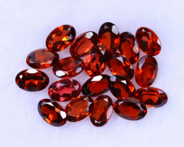 10.56cts Natural Orangish Red Spessartite Garnet Lots / MA1286