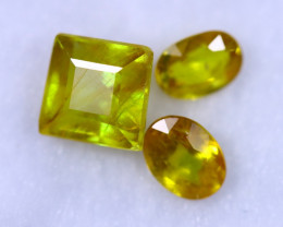 8.34cts Madagascar Yellow Sapphire Lots / MA1287