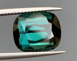 8.15 Carat Indicolite  Tourmaline Gemstone