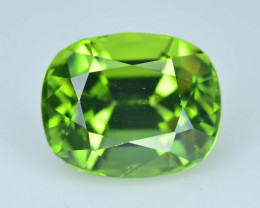 Exquisit Color 3.55 ct Himalayan Peridot ~ Pakistan