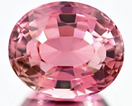 5.38 ct Padparadscha Colors Tourmaline With Excellent luster Gemstone