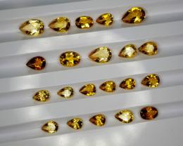 10Crt Madeira Citrine Lot Natural Gemstones JI128