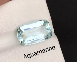 Top Grade 5.85 ct lovely Aquamarine Ring Size