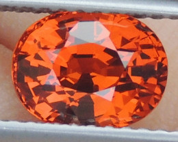 2.15cts, Mandarin Spessartite Garnet,