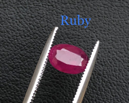 Top Class 1.10 ct Attractive Red Ruby Ring Size