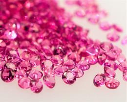 VVS! Unheated Purple-Pink Rhodolite Garnet 500 Pieces