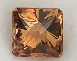 Pretty Custom Cut Golden Orange Imperial Topaz - Mexico