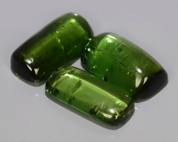 4.80 CTS AWESOME SPARKLE NATURAL NR..BEST GREEN-TOURMALINE COBOCHONS!!