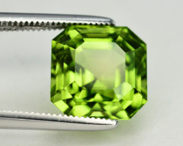 Peridot 5.35 Ct Natural Amazing Color, Top Quality~ A