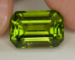 Peridot 7.50 Ct Natural Amazing Color, Top Quality~ A