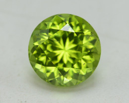 Peridot 4.35 Ct Natural Amazing Color, Top Quality~ A