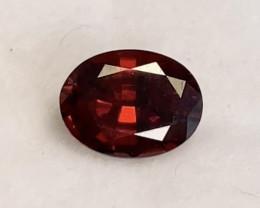 Pretty Red Oval Garnet - Mozambique KR213