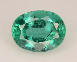 Top Color & Clarity 1.80 ct Emerald With Rutile ~Zambia~KS