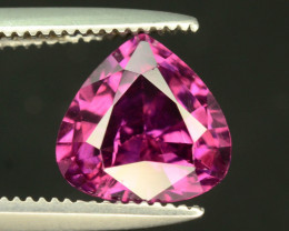 Lovely Cut 1.55 ct Pinkish Grape Garnet
