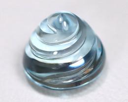 Aquamarine 2.52Ct VS2 Designer Cut Natural Blue Color Aquamarine B0611