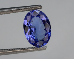 Tanzanite 0.90 Ct Natural Tanzanite ! Eye Catching Tanzanite!!GA!