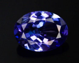 Tanzanite 1.25 Ct Natural Tanzanite ! Eye Catching Tanzanite!!GA!