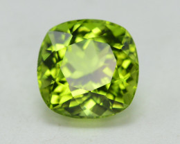 Peridot 3.85Ct Natural Amazing Color, Top Quality~ A